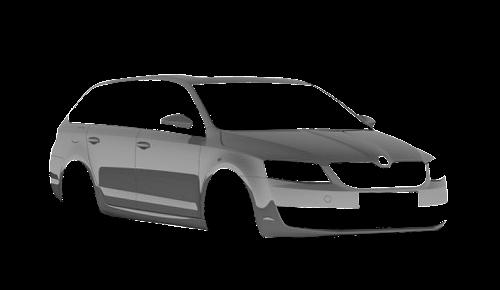 Цвета кузова Octavia A7 Combi