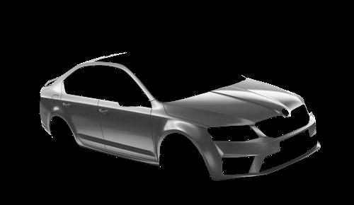 Цвета кузова Octavia A7 RS