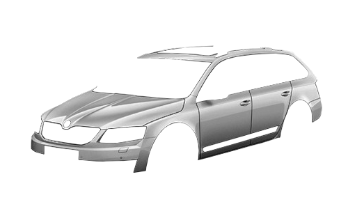 ����� ������ Octavia A7 Scout